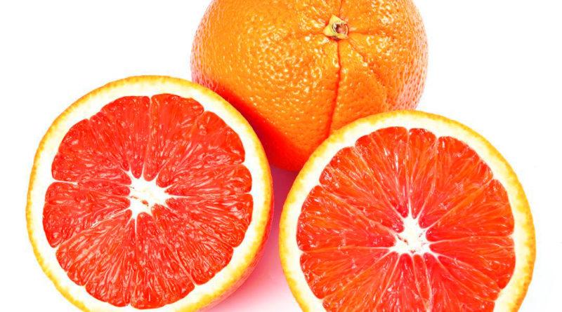 La naranja Caracara roja