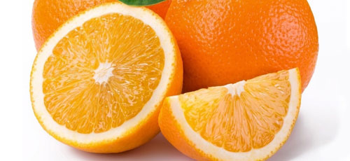 naranjas blancas