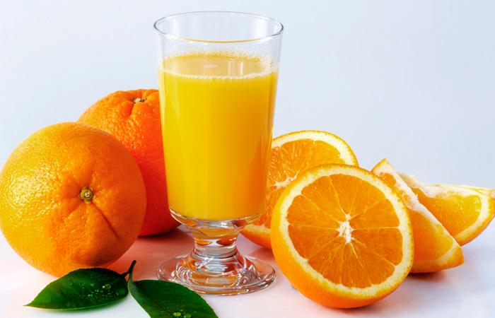 El zumo de naranja y sus beneficios para la salud